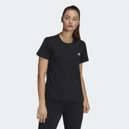 Camiseta Adidas D2M Sport  - Preto