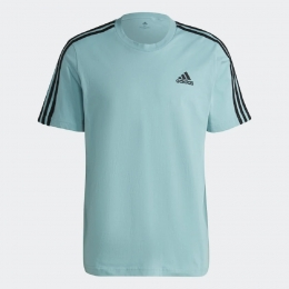 Camiseta Adidas Essentials 3 Listras Masculina - Minton