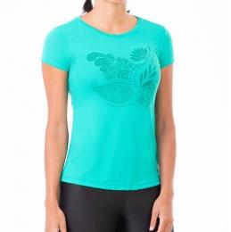 Camiseta Authen Keep Cool Extended Silkada - Verde