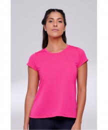 Camiseta Authen Keep Cool Hollow - Rosa