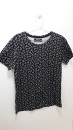Camiseta Cola-Cola Estampada - Preta