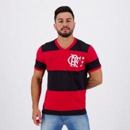 Camiseta Flamengo LIB Zico - Masculina - Braziline