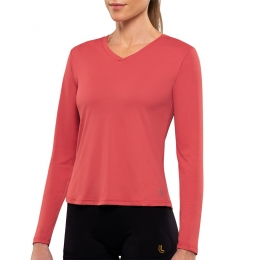 Camiseta Lupo AF Repelente UV - 77028 - Tijolo