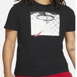 Camiseta Nike basquete Foto Nike - Masculina - preto