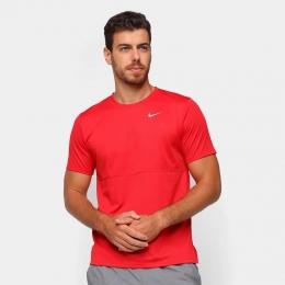 Camiseta Nike Breathe Run To Vermelha