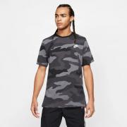 Camiseta Nike Camo Print Logo - Camuflada