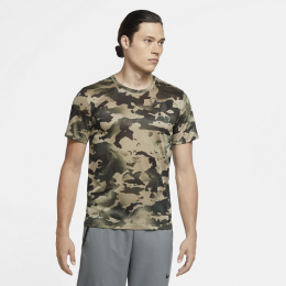 Camiseta Nike Dri-FIT Masculina - Camuflada