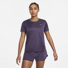 Camiseta Nike Dri-Fit Miler Feminina - roxa