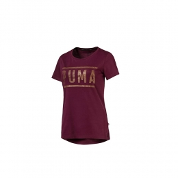Camiseta Puma Athletic tee - vinho