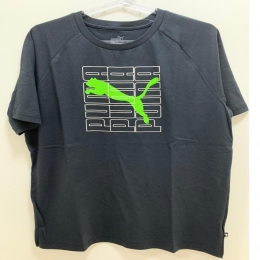 Camiseta Puma Dimensional graphic tee Masculino - Preto