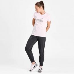 Camiseta Puma ESS metallllc Feminina - Branca