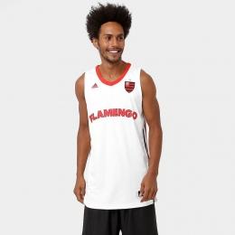 Camiseta Regata Adidas Flamengo Basquete