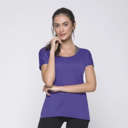 Camiseta Selene Dry Fit - roxo - 20860.002