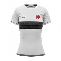 Camiseta Vasco Approval Braziline Feminina - Branca