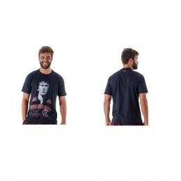 Camiseta Zico Ídolo Flamengo Masculina - Braziline