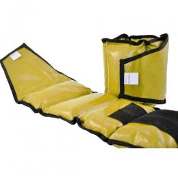 Caneleira de Peso Pulmax amarelo - 8Kg