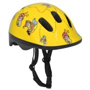 Capacete Poker Bike Out Mold Kids - Amarelo