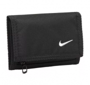 Carteira Nike Basic Nylon Wallet - Preto