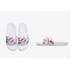 Chinelo Nike Benassi JDI Print Branco