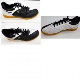 Chuteira Futsal Couro Diavolo Athenas Lion Prt/Lbrc