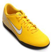 Chuteira Futsal Nike Mercurial Vapor 12 Club Neymar IC INFANTIL - Amarelo e Preto