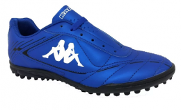 Chuteira Society Infantil Kappa Grain II - Azul
