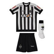 Conjunto oficial Infantil Atlético Mineiro Listrado - Original - Topper - Preto
