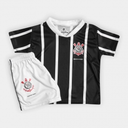 Conjunto Infantil do Corinthians - Torcida Baby