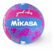 BOLA DE VOLEIBOL GOOD VIBES Mikasa - ROSA/AZUL
