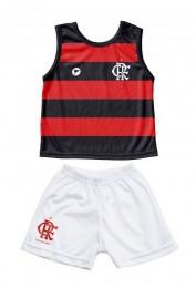 Conjunto Torcida Baby Flamengo  Regata Torcida Baby 2 Ano