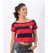 Cropped Braziline Vibe Flamengo - Listrada