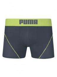 Cueca Boxer Microfibra com Recorte - Puma Verde