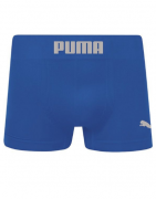 Cueca Long Boxer Puma Sem Costura - Azul Royal