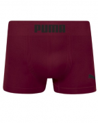 Cueca Long Boxer Puma Sem Costura - Vinho
