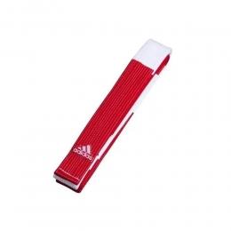 Faixa Adidas Especial Mestre Red / White
