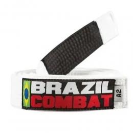 Faixa Especial Brazil Combat - Branca