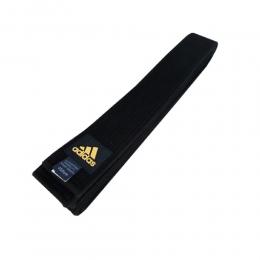 Faixa Taekwondo Belt Adidas - Preta
