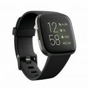 Fitbit Versa 2 Health & Fitness Smartwatch small and large (FB507BKBK) - BLACK - ORIGINAL