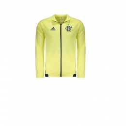 Jaqueta Adidas Flamengo Impermeável Cr - Amarelo