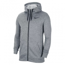 Jaqueta Nike Moletom Therma HD Masculina - Cinza