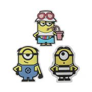 Jibbitz CROCS Minions despicable me  3-Pack