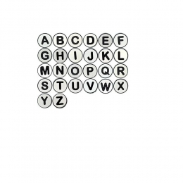 Jibbitz Broche Letras - Crocs - Unidade