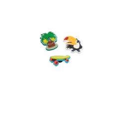 JJibbitz Broche Kit Island Fun - Crocs