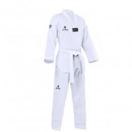 Kimono Dobok Infantil Strike Taekwondo Alpha Gola Branca