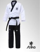 Kimono Dobok Strike Poomsae Taekwondo - Gola Preta