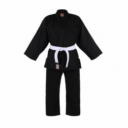 Kimono Infantil Refor. Judo / Jiu-Jitsu  Haganah - Preto