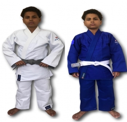 Kimono Infantil Trançado Plus Judo - Torah