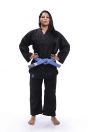 Kimono Reforçado - Kung Fu - Torah - Preto - A2