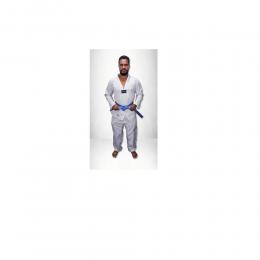 Kimono Taekwondo Olympic Torah Adulto Gola Branca - A5