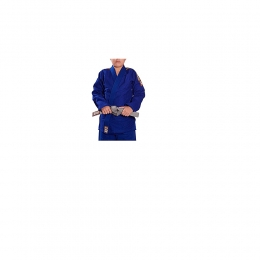 Kimono Haganah Judô Tradicional Trançado Azul - Infantil